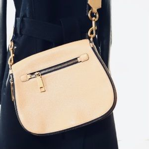 Marc Jacobs Gotham Tan Saddle Bag/ guitar strap